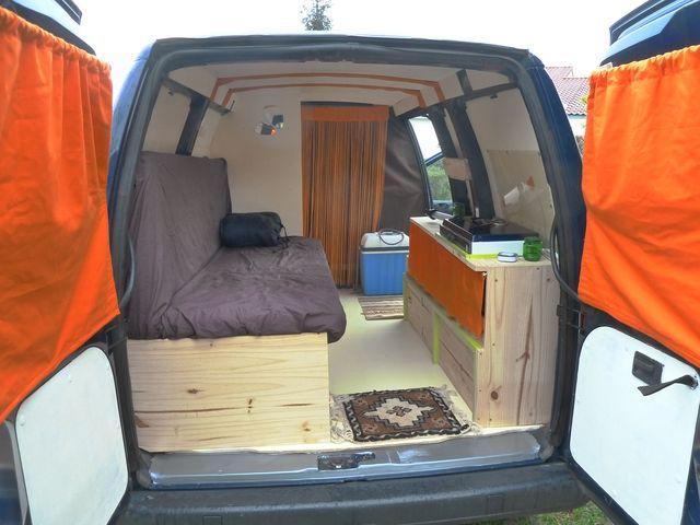 Amenagement interieur fourgon u car 33 for Interieur camping car