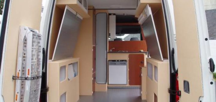 amenagement interieur de fourgon en camping car u car 33