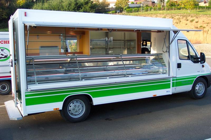 Super Camionnette commerce ambulant occasion - u car 33 ET82