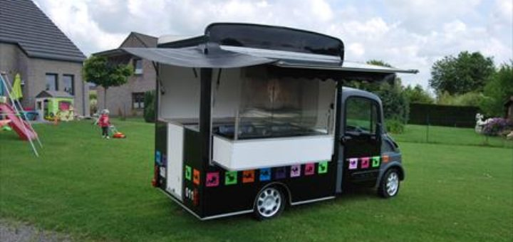 mini food truck occasion u car 33. Black Bedroom Furniture Sets. Home Design Ideas