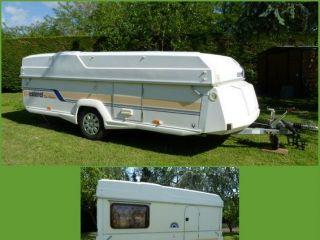 Caravane pliante esterel top volume 4 places u car 33 - Caravane 5 places lits superposes ...