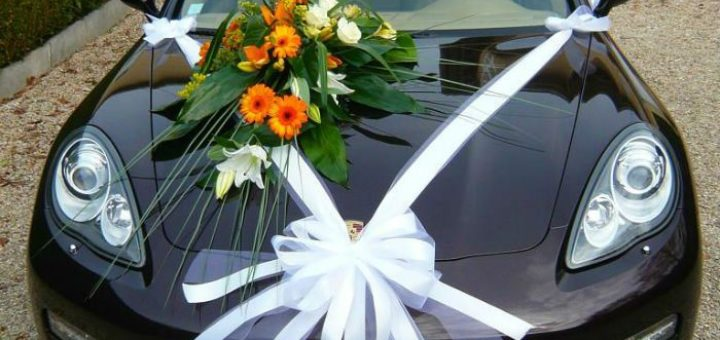 comment dcorer voiture mariage fleuriste rueil nanterre mariage deuil livraison rose ternelle. Black Bedroom Furniture Sets. Home Design Ideas