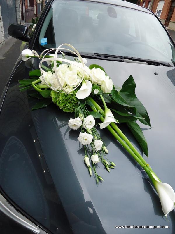 bouquet de fleurs voiture mariage u car 33. Black Bedroom Furniture Sets. Home Design Ideas