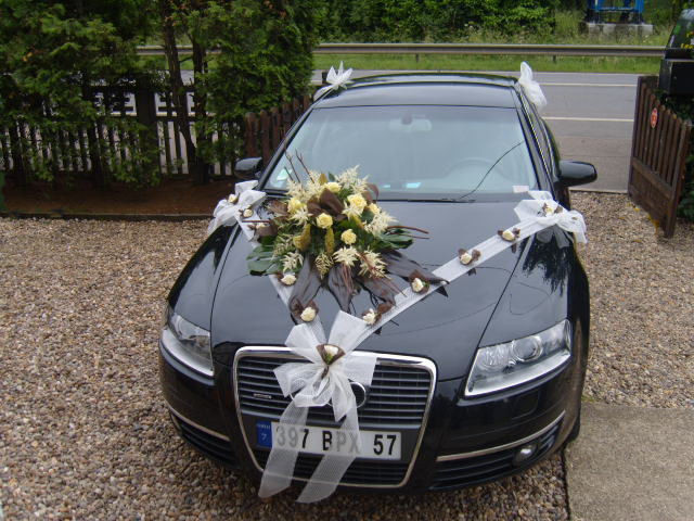 fleur voiture mariage pas cher u car 33. Black Bedroom Furniture Sets. Home Design Ideas