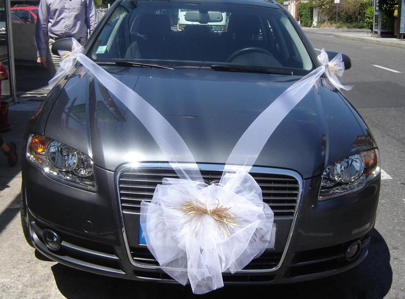 voiture des mariés décoration u car 33