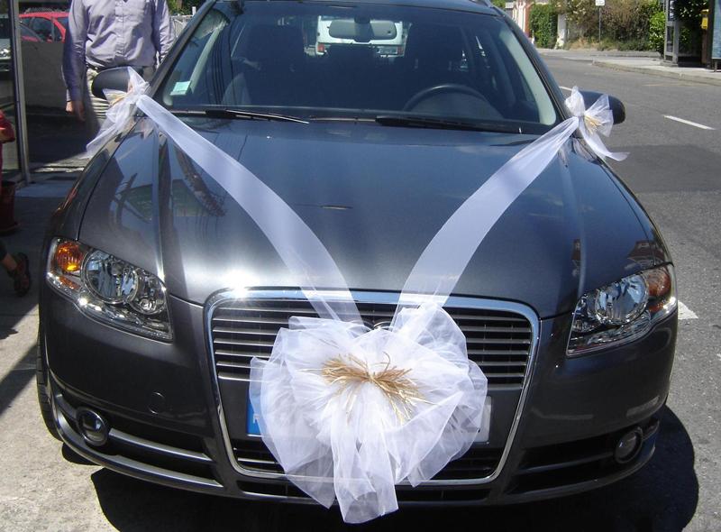 Connu Deco voiture mariage tulle - u car 33 PY96