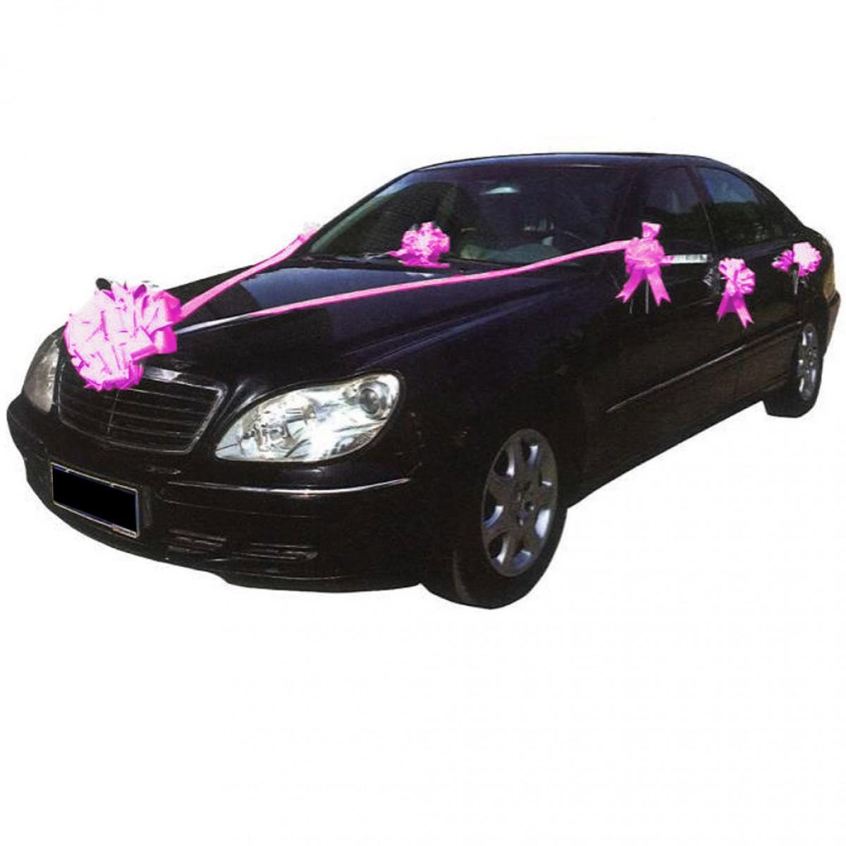 kit deco voiture mariage gifi u car 33. Black Bedroom Furniture Sets. Home Design Ideas