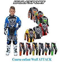 tenue de moto cross pour enfant u car 33. Black Bedroom Furniture Sets. Home Design Ideas