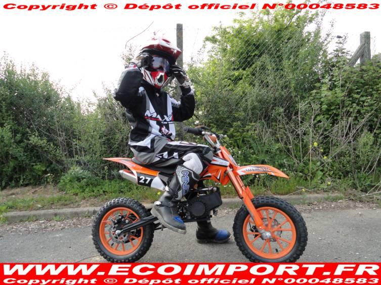 motocross 8 ans