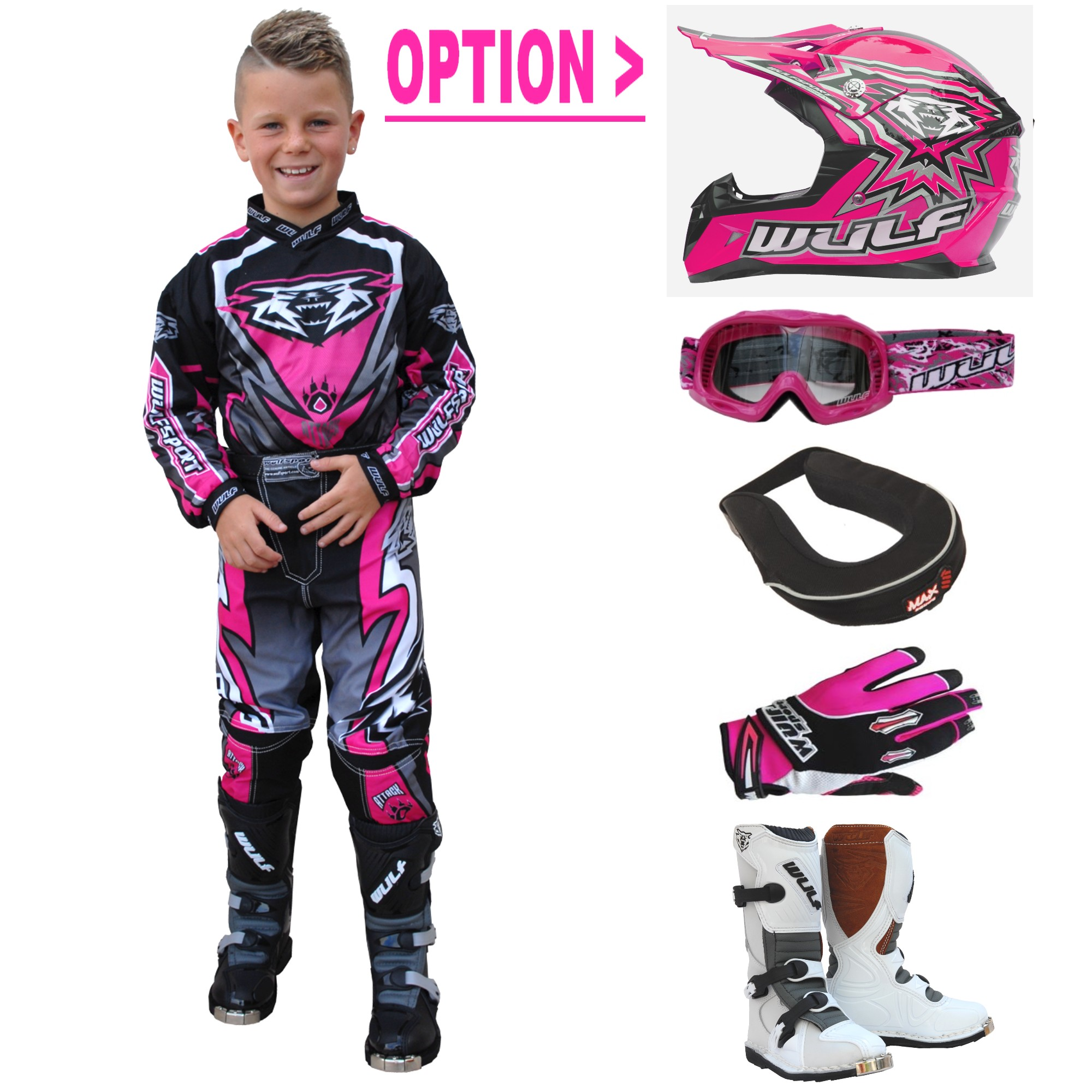 tenue moto cross 14 ans u car 33. Black Bedroom Furniture Sets. Home Design Ideas
