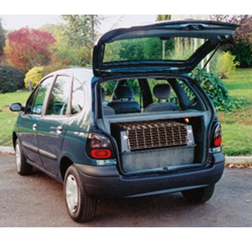 cage de transport pour chien voiture u car 33. Black Bedroom Furniture Sets. Home Design Ideas