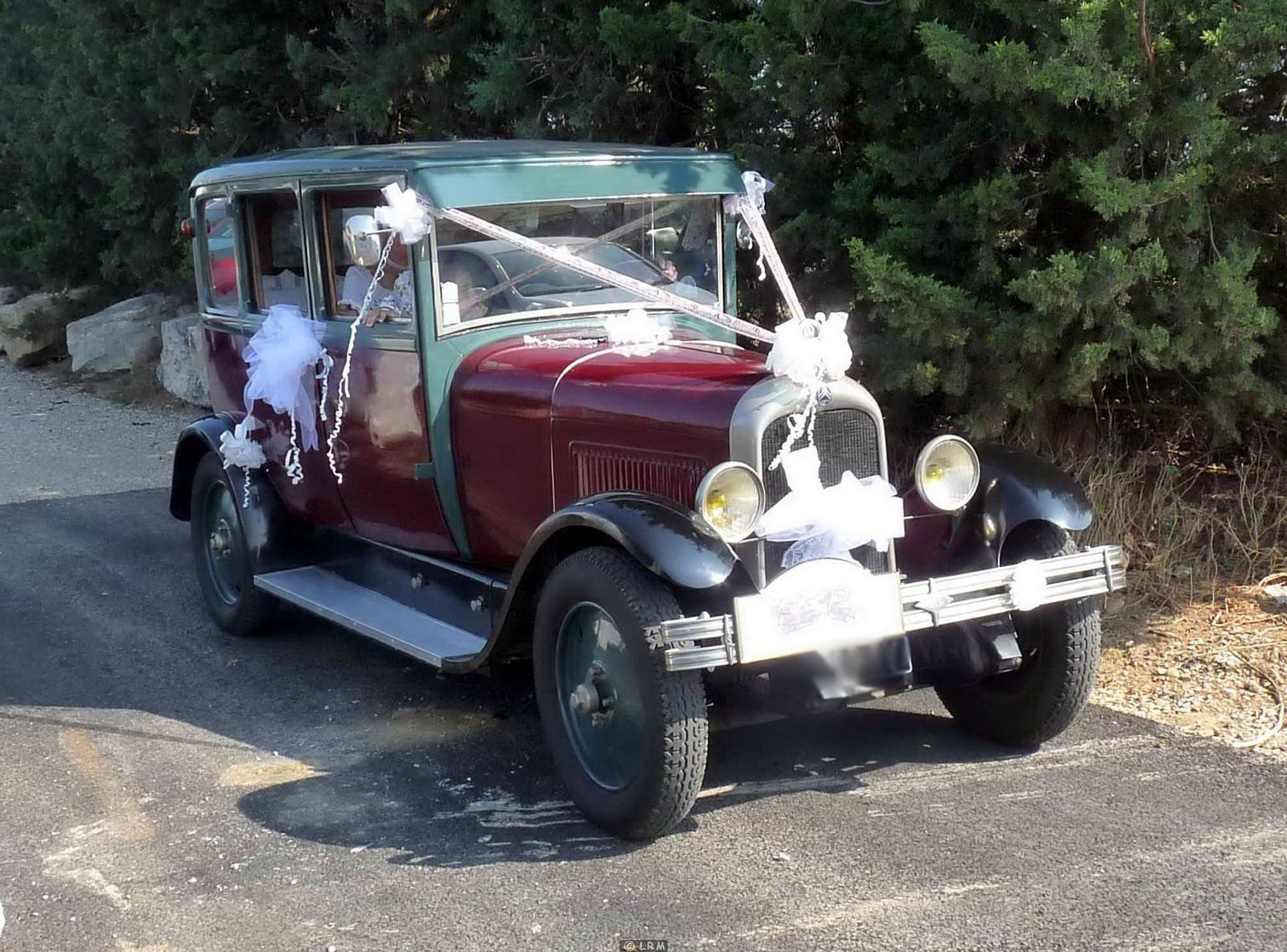 Decoration Voiture Mariage Vintage : Voiture ancienne pour mariage u car