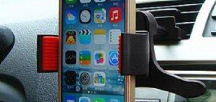 support grille aeration iphone 6 u car 33. Black Bedroom Furniture Sets. Home Design Ideas
